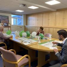 Despite lockdown, all the H&H companies joined together virtually for a safe distance 'Brew for the Crew' coffee morning  for GNAAS in 2020