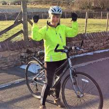 Nina Oxley, Group Marketing Manager completes GNAAS Race to Base challenge during November 2020