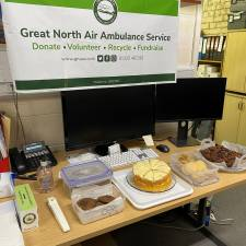 'Brew for the Crew' virtual coffee morning was well supported by all at H&H and the cakes were delicious!!